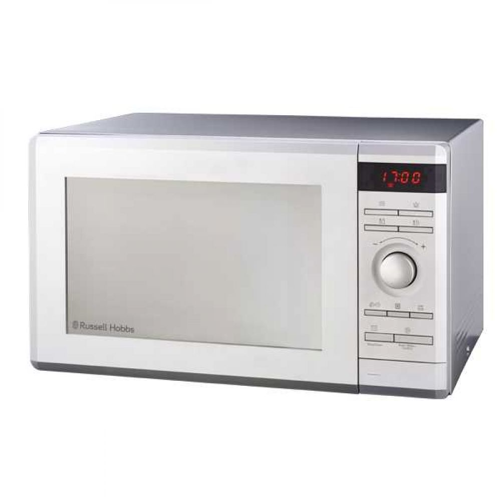 36L ELECTRIC SILVER MICROWAVE WITH MIRROR FINISH