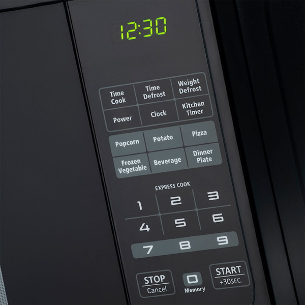 28L ELECTRIC BLACK MICROWAVE