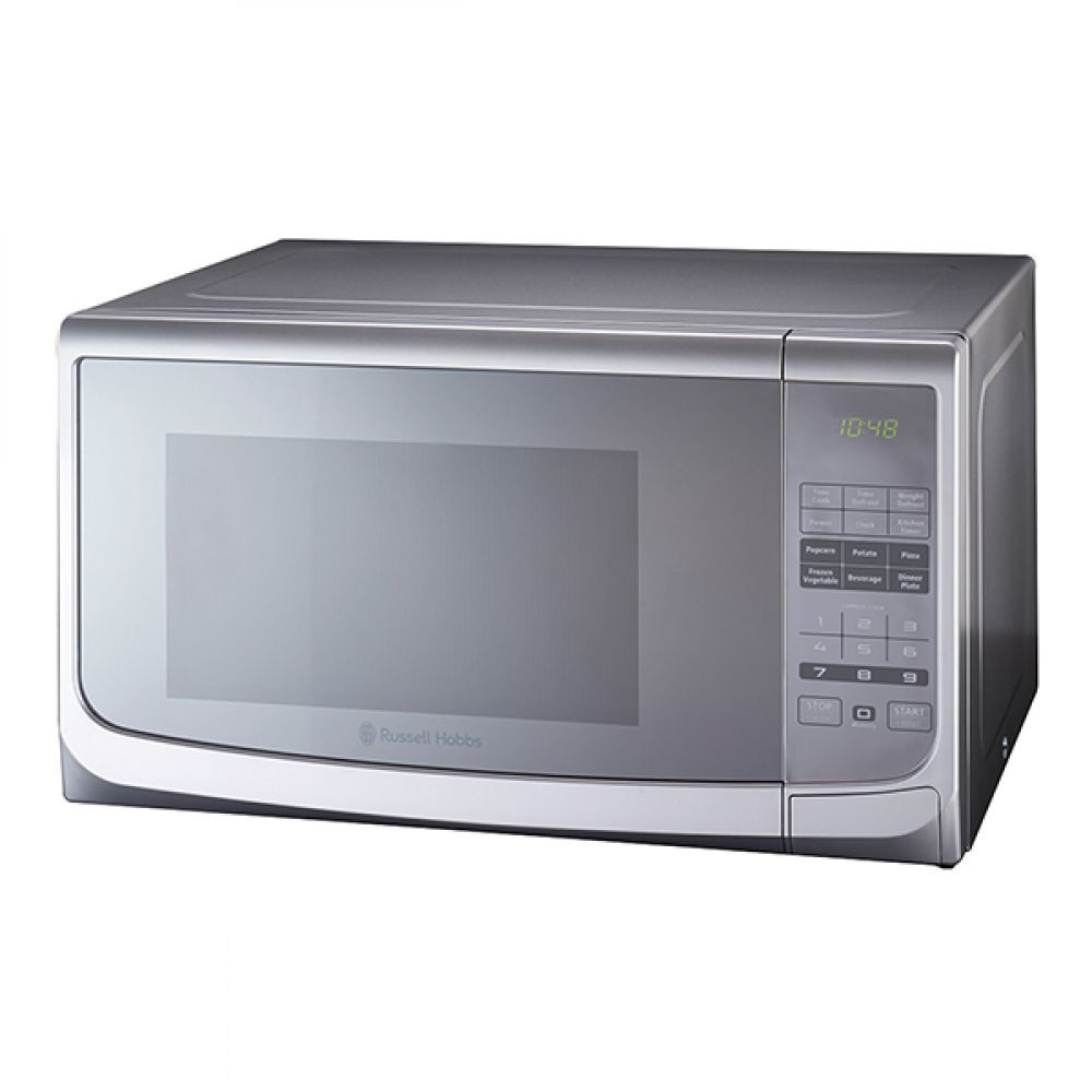28L ELECTRIC SILVER MICROWAVE WITH MIRROR FINISH