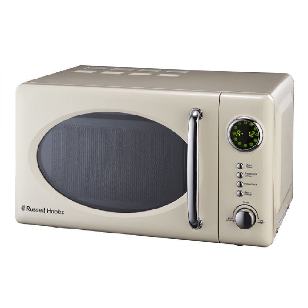 20L RETRO CREAM MICROWAVE