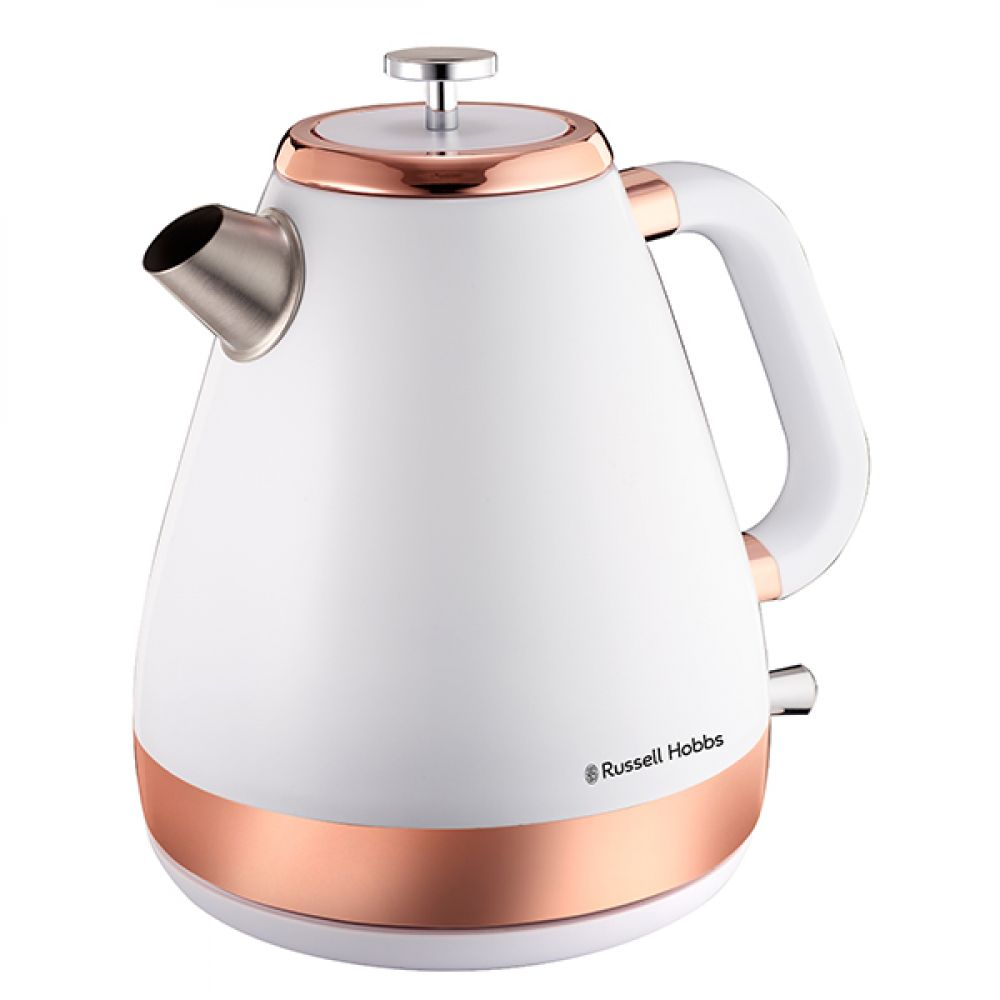 1.7L ROSE GOLD AND WHITE KETTLE
