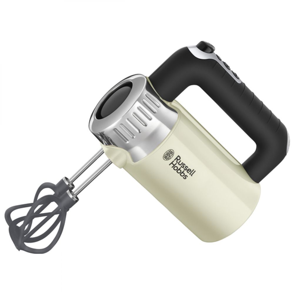 500W RETRO CREAM HAND MIXER