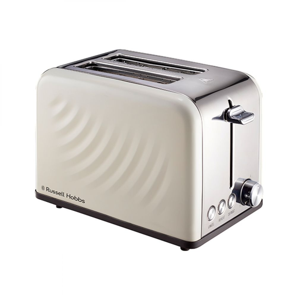 2 SLICE SWIRL CREAM TOASTER