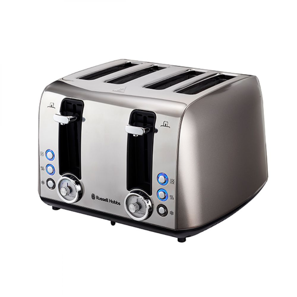 4 SLICE VINTAGE GREY TOASTER