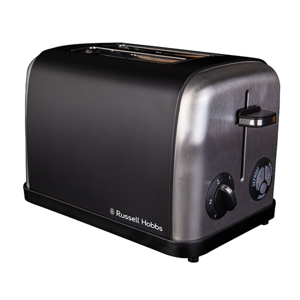 2 SLICE BLACK TOASTER